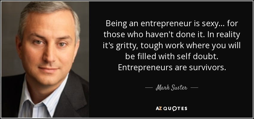 being an entreprenuer