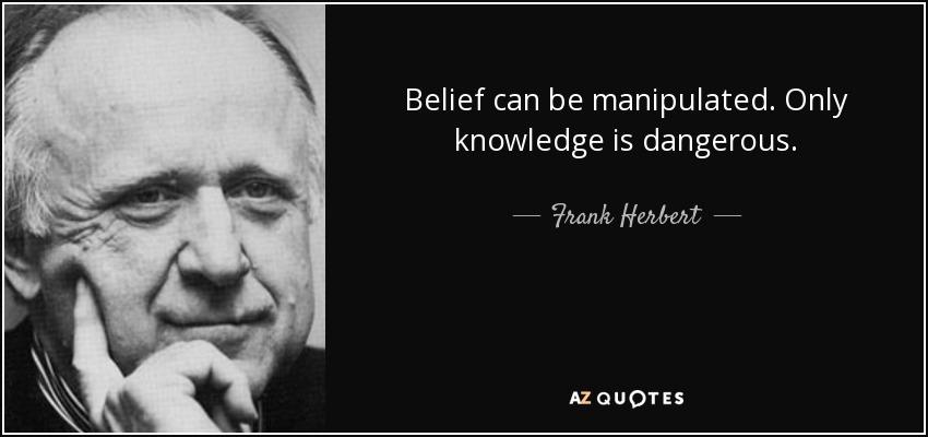 Is knowledge dangerous?!?