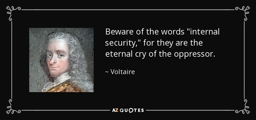 Beware of the words