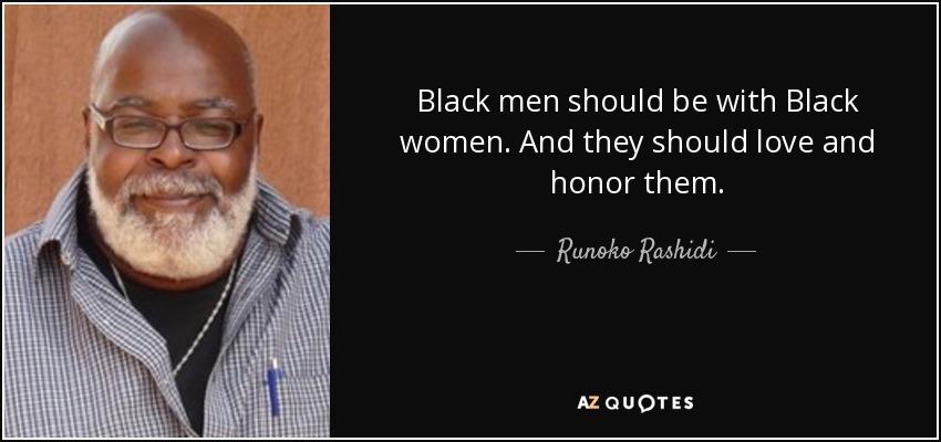 Black men love black women