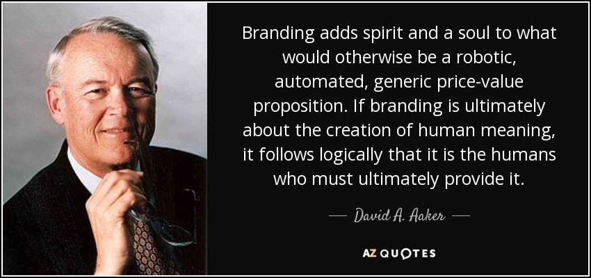 QUOTES BY DAVID A. AAKER | A-Z...