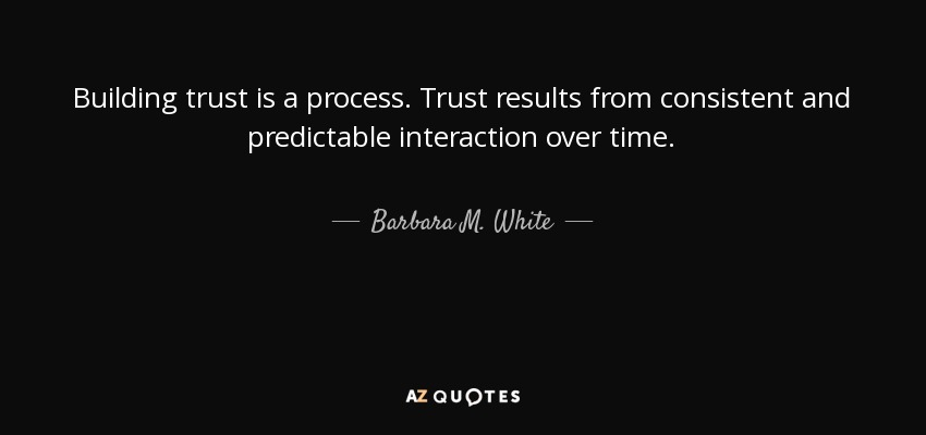 BUILDING TRUST QUOTES [PAGE   2] | A Z Quotes