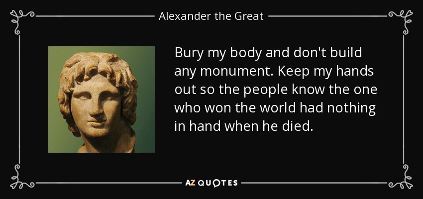 What Were Alexander the Great's Goals?