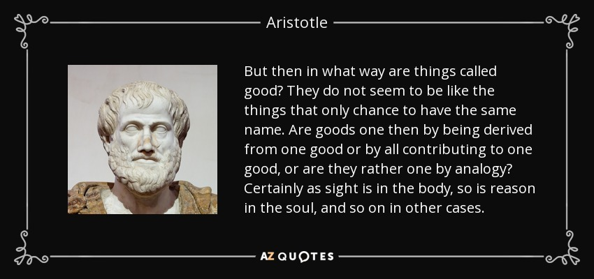 aristotles views on virtue and his philosophy of the soul Aristotle viewed education as being properly part of politics, with the state having a duty to provide public education he recognised a necessary and reciprocal relationship between the state and the individual in which education is in the service of the state's needs but.