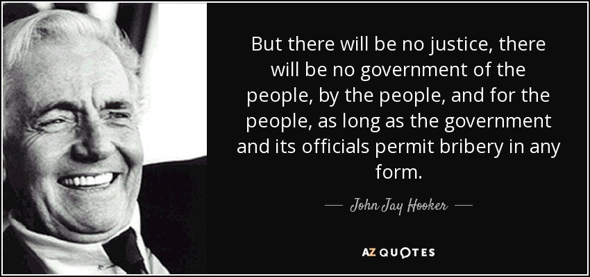 John Jay Hooker Quote But There Will Be No Justice There Will Be No