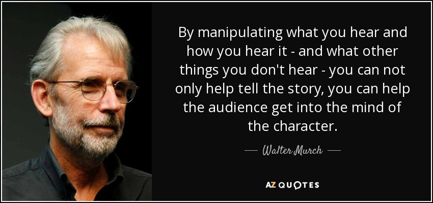 top quotes by walter murch a z quotes