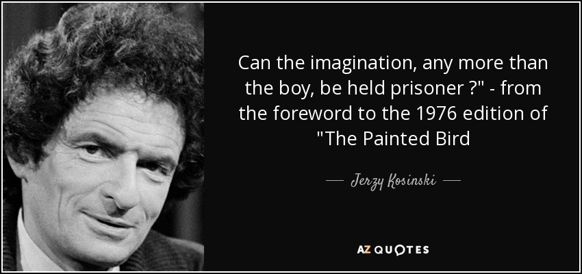 Can the imagination, any more than the boy, be held prisoner ?