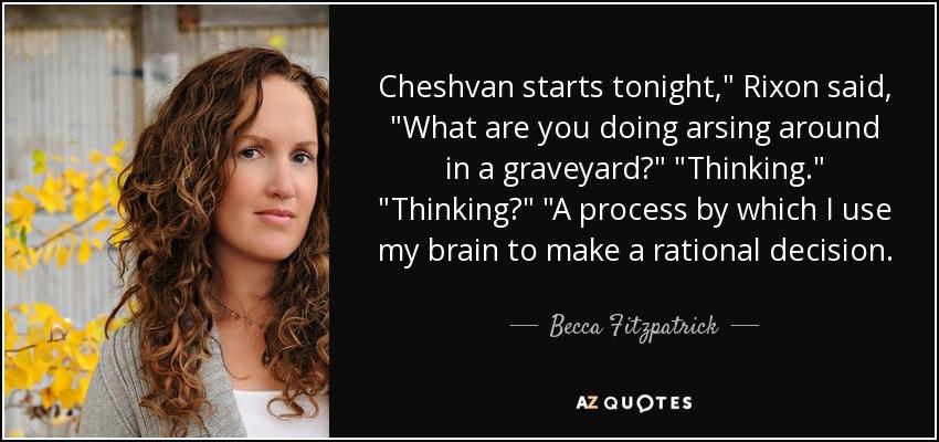 Cheshvan starts tonight,