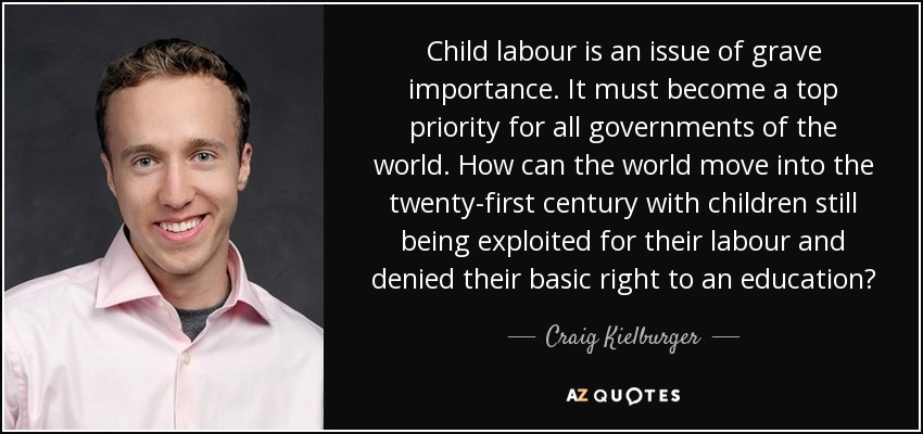 importance of child labour