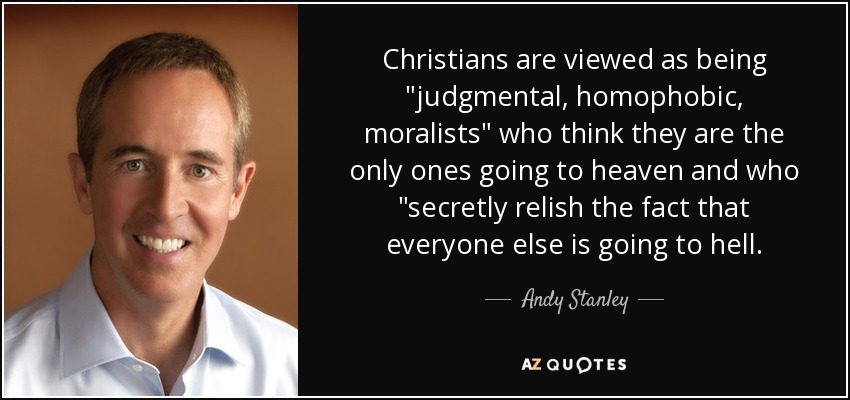 Christians are viewed as being