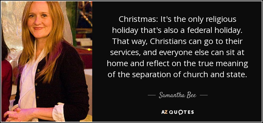 religious holiday quotes - Is Christmas A Religious Holiday