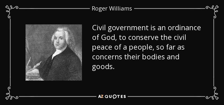 The civil peace