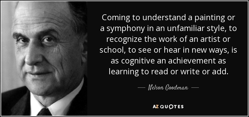 Top 11 Quotes By Nelson Goodman A Z Quotes