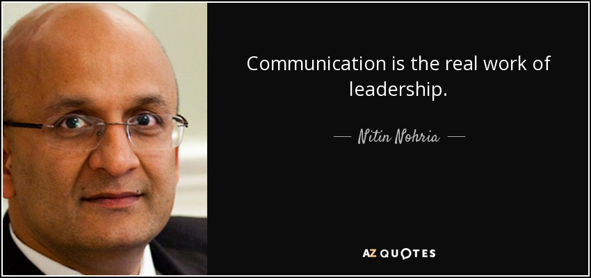 Quotes By Nitin Nohria A Z Quotes