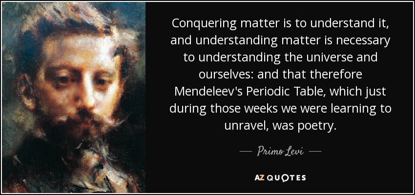 Top 24 periodic table quotes a z quotes and understanding matter is necessary to understanding the universe and ourselves and that therefore mendeleevs periodic table which just during urtaz Images
