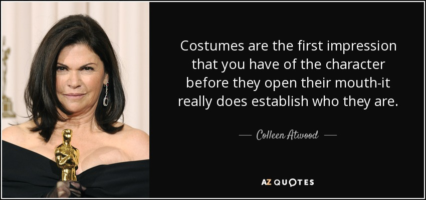 TOP 25 COSTUMES QUOTES (of 540)