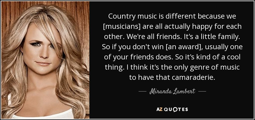 Country Song Quotes About Happiness Miranda Lambert Quote Country