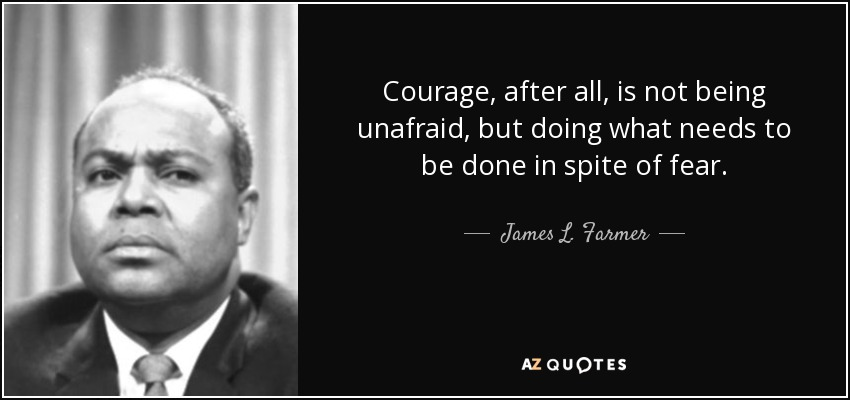 TOP 10 QUOTES BY JAMES L. FARMER, JR.