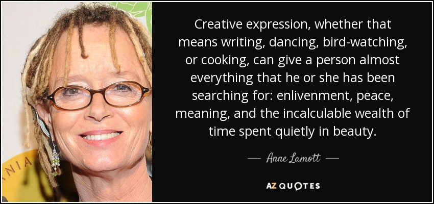 Meaning of creative writing