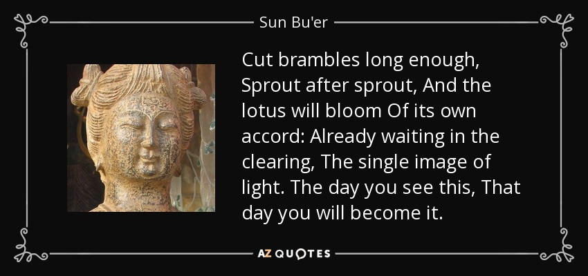 Sun Buer Quote Cut Brambles Long Enough Sprout After Sprout And