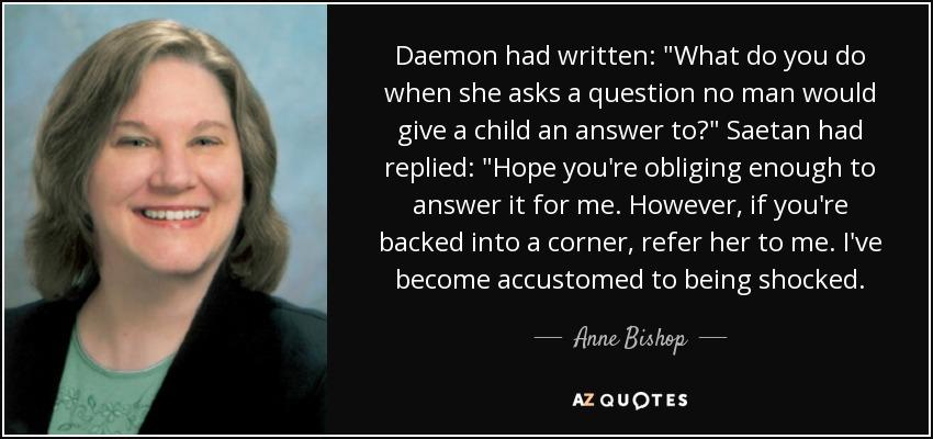 Daemon had written: