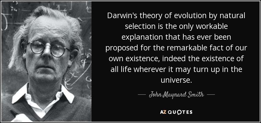 Darwin S Theory Of Natural Selection Citation