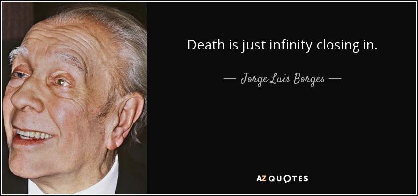 Jorge Luis Borges infinity