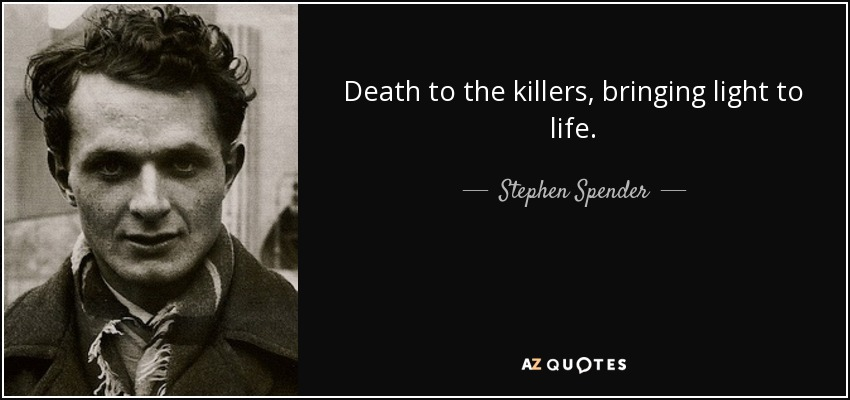 Stephen Spender death