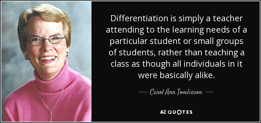 Top 25 Quotes By Carol Ann Tomlinson A Z Quotes