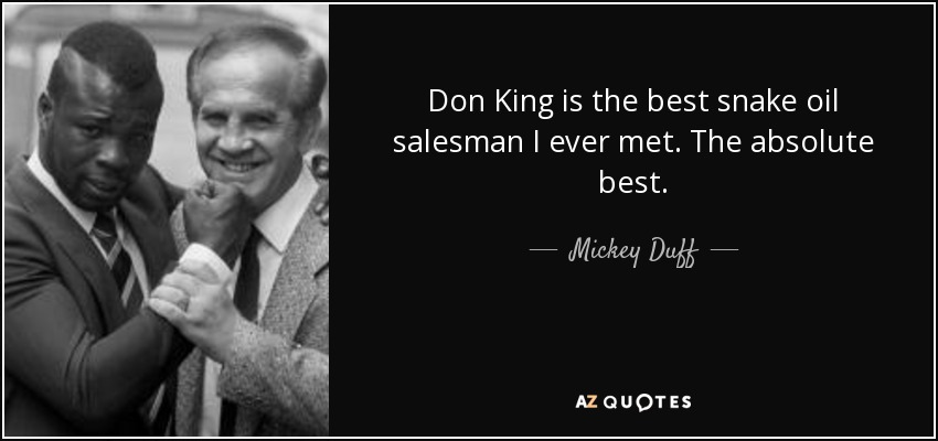 QUOTES BY MICKEY DUFF | A-Z Quotes