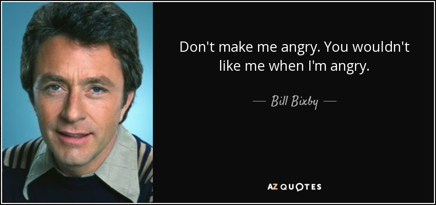 bill bixby biography