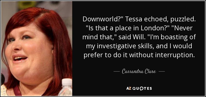 Downworld?