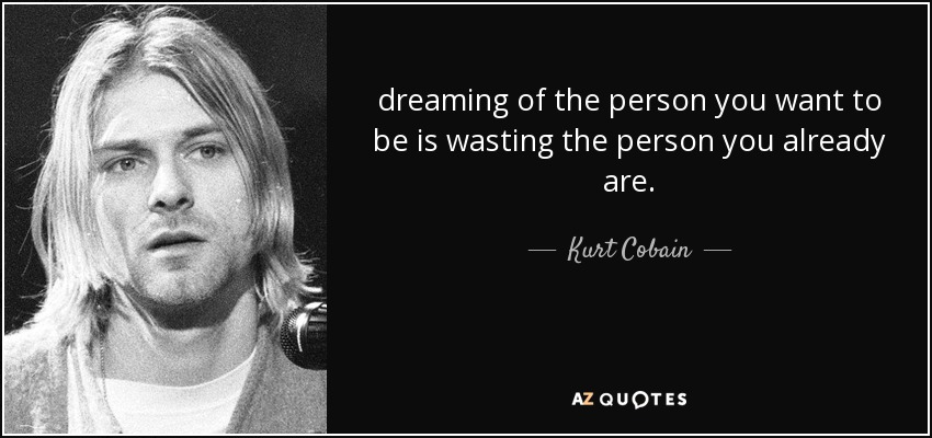 Az Quotes Amusing Top 25 Quoteskurt Cobain Of 218  Az Quotes