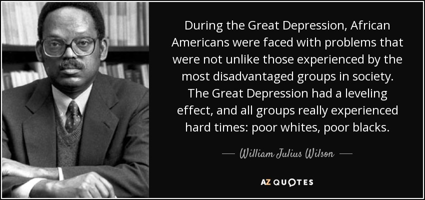 african americans in the great depression essay The effect of the great depression on children (suggested grade great depression on americans the great depression 2 create a photo essay.