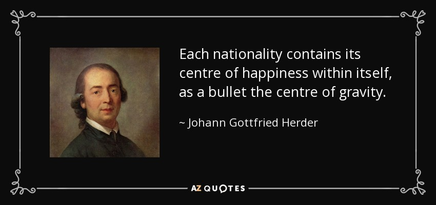 johann gottfried herder essay on the origin of language For herder, language was a distinctly human phenomenon, born from man's unique cognitive practices: language is in the very structure of how we approach and perceive the world moreover, in a move that anticipated discoveries in neuroscience made only within the last half century, herder identified reflection , networking , and plastic.