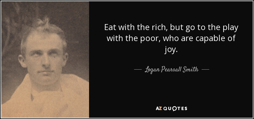 Top 25 Rich And Poor Quotes Of 261 A Z Quotes