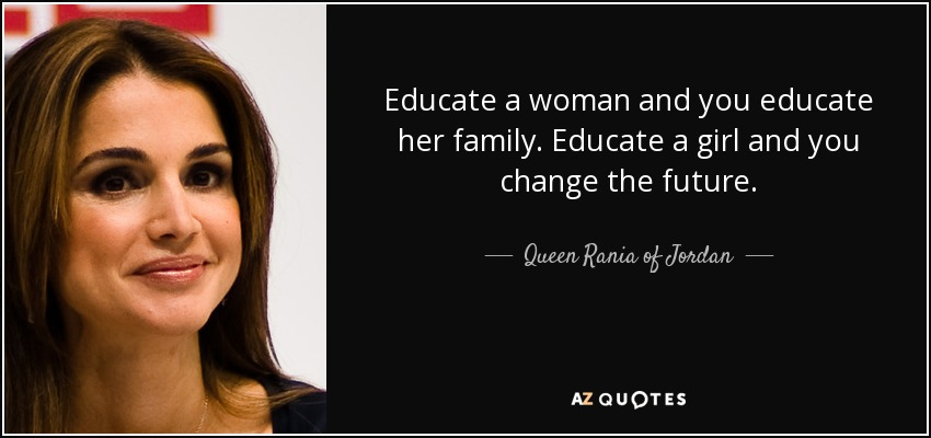 TOP 25 QUOTES BY QUEEN RANIA OF JORDAN (of 69)