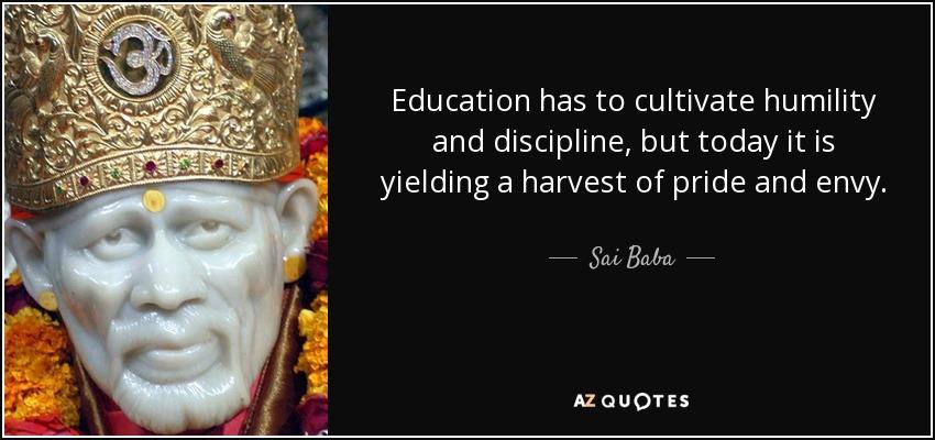short essay on education and discipline