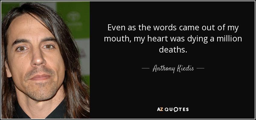 anthony kiedis essay