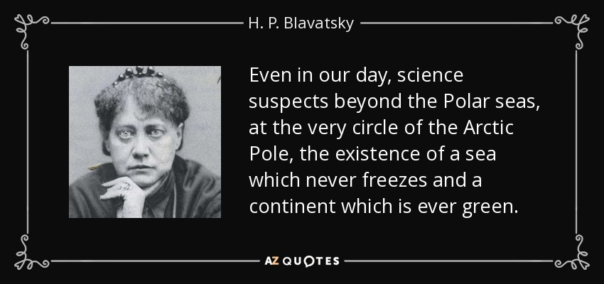 h p blavatsky quote even in our day science suspects beyond