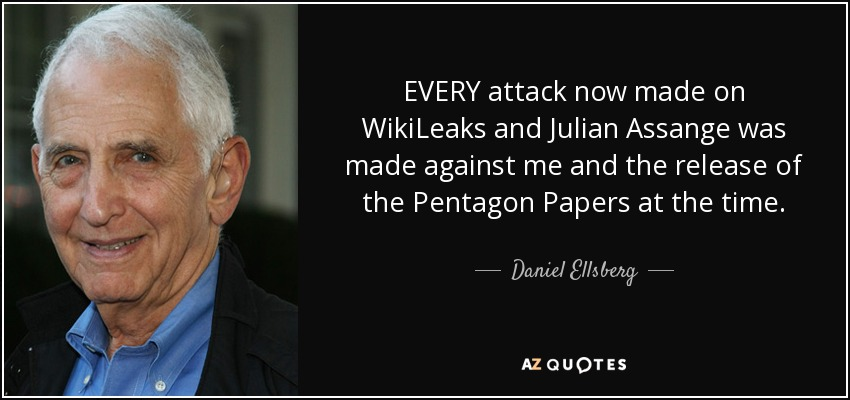 Image result for julian assange daniel ellsberg