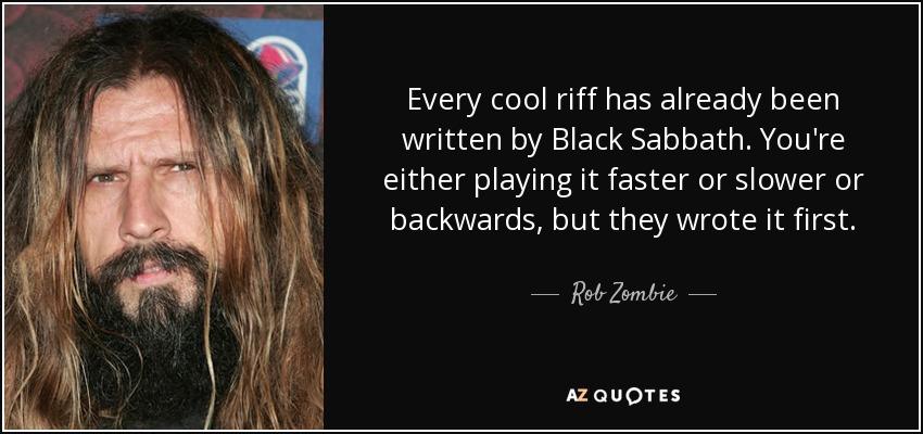 Image result for rob zombie black sabbath