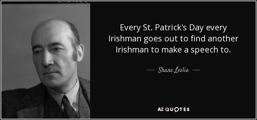 TOP 23 ST PATRICK QUOTES | A-Z Quotes