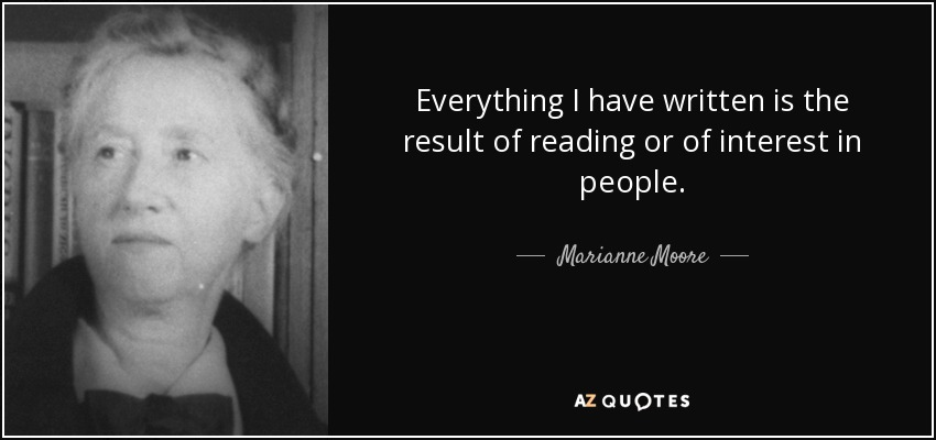 an analysis of the poetry of marianne moore Marianne moore's, poetry : an analysis of the genuine constitutions of poetry biographical information poetry in context revisions poetic analysis.