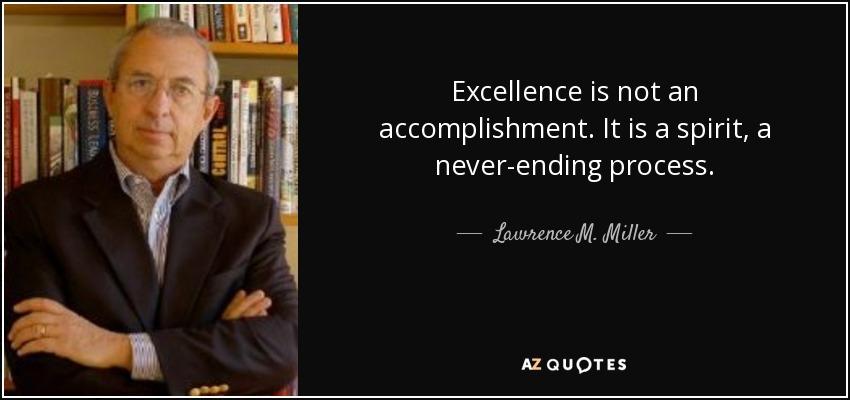 Excellence Quotes about Achievement