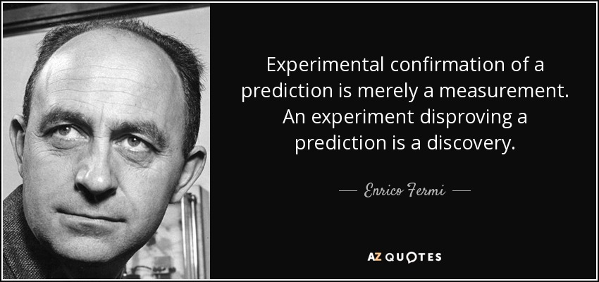 43 Famous Discovery Quotes Sayings About Discovery: TOP 20 QUOTES BY ENRICO FERMI