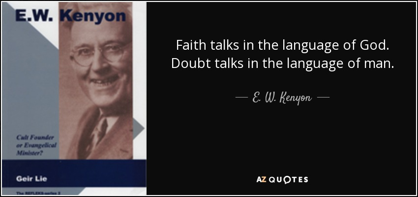 Image result for E W kenyon