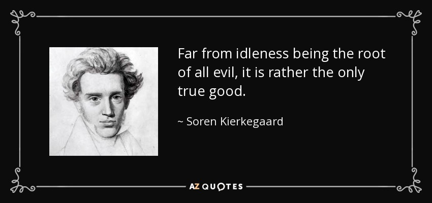 an analysis of the sufferings of a rational being in the mind of soren kierkegaard Kierkegaard was not just a suffering prophet, though he was a man of deep, almost mystical faith, and his acerbic pen could also compose lyrical prayers like these.