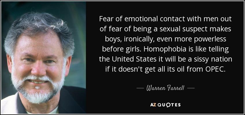 being an emotional man