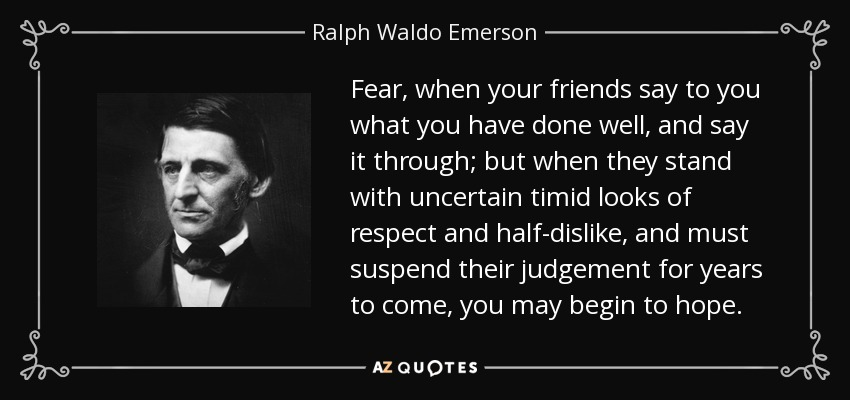 the life and work of ralph waldo emerson an american transcendentalist